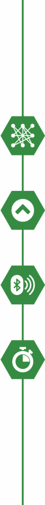 green line icons